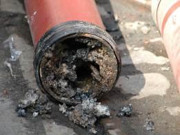 Засор стояка канализации